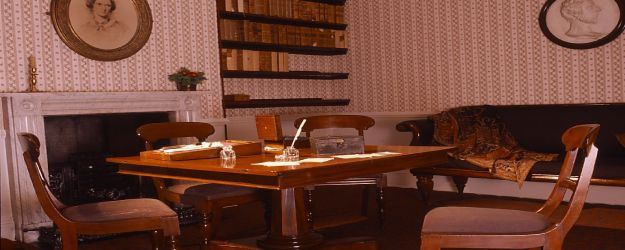 Bronte parsonage dining room